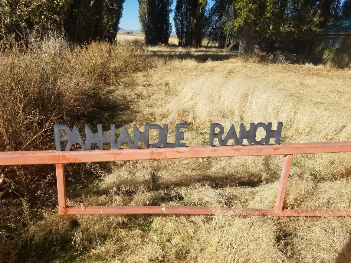 Panhandle Ranch gate