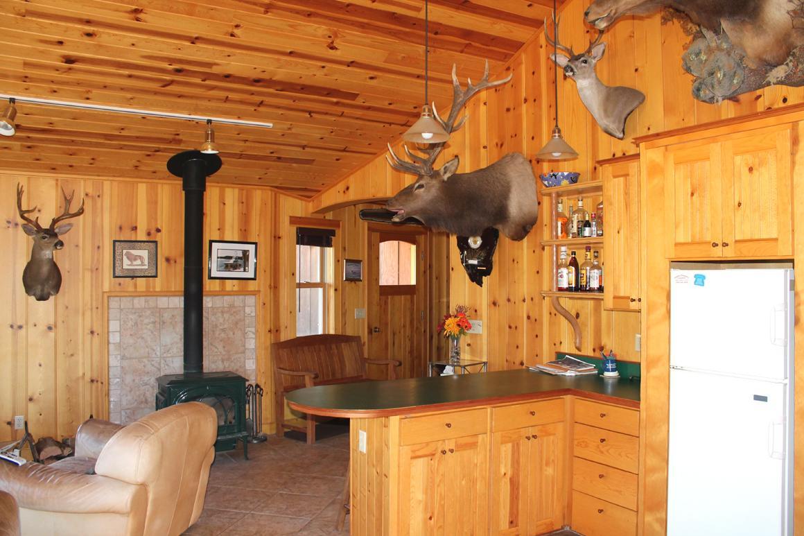 Hunting cabin interior - Lodge Cabin Interior