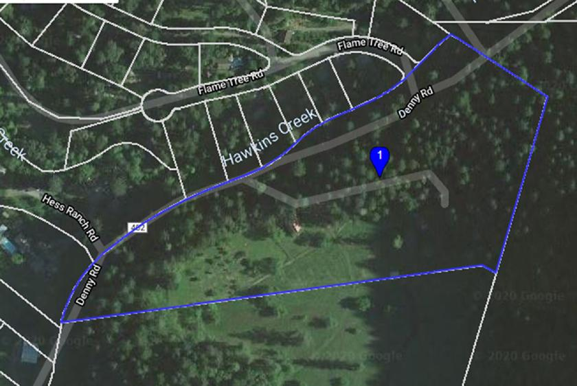 Aerial map approximate