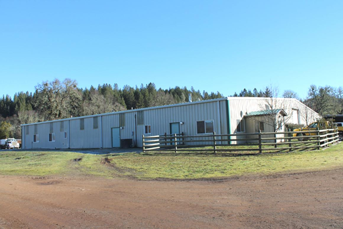Equestrian Center building