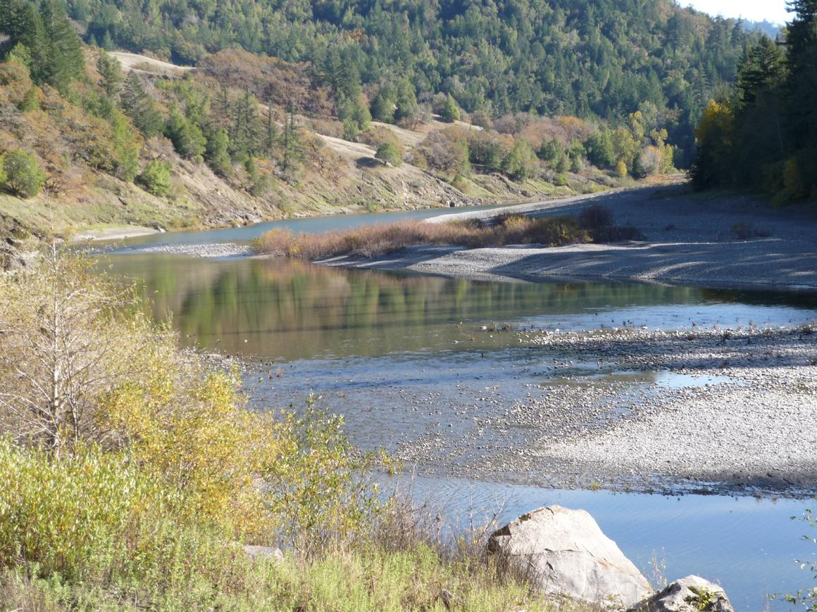 Eel River view 2
