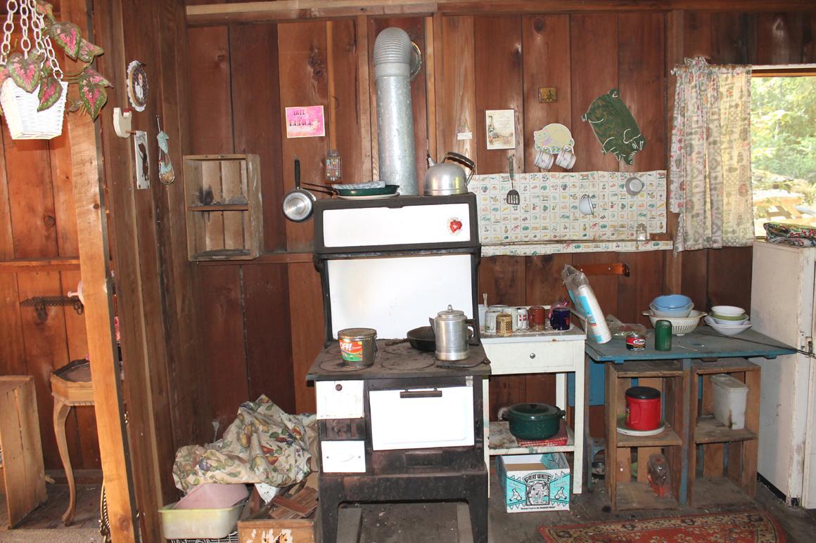vintage style stove