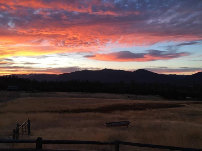 Beautiful sunsets, too!