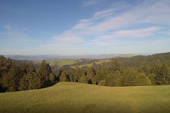 Views to the Trinity Alps