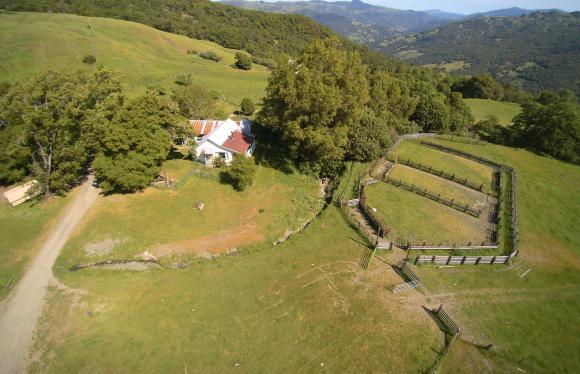 Aerial photo home